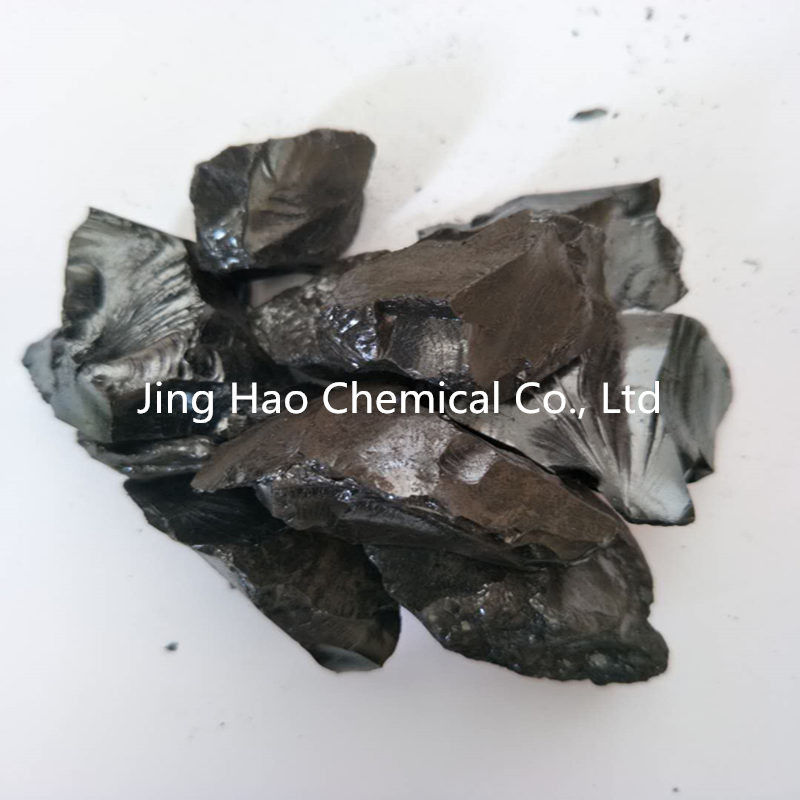Black Solid Coal Tar Hard Pitch For Cold Ramming Paste High Performance